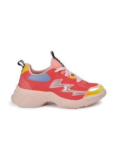 Tiffany&Tomato 9150485 Pudra Kadın Spor Ayakkabı Pudra
